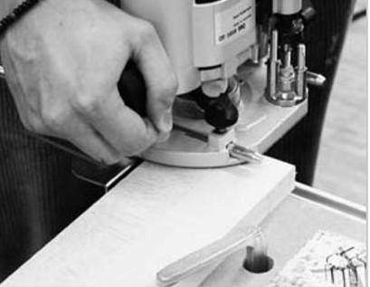 порядок действий фрезерования ручки