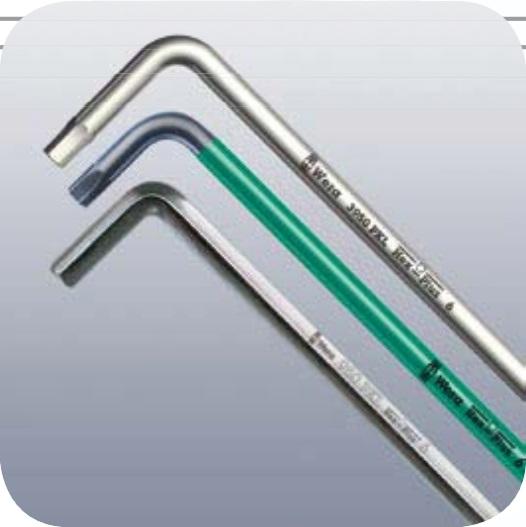 Набор Г-образных ключей BlackLaser WERA 950 PKL/9 BM N WE-022086