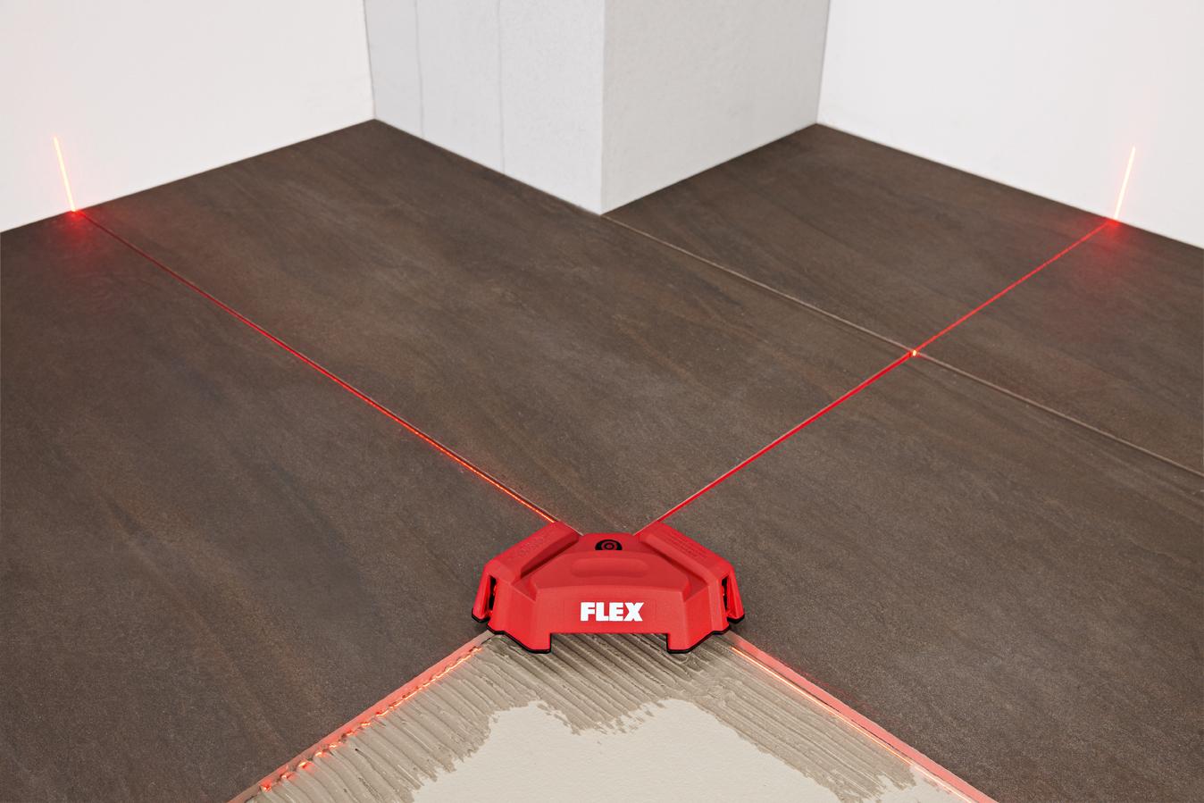 Лазерный измеритель (нивелир) FLEX ALC 2-F