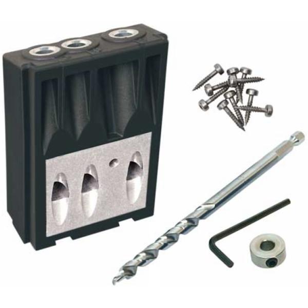 Приспособление для соединения саморезами тонких деталей (Кондуктор) Kreg Micro Pocket Drill Guide