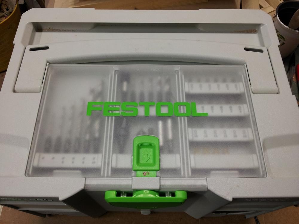 Систейнер с отсеком в крышке FESTOOL SYSTAINER T-LOC DF SYS 1 TL-DF