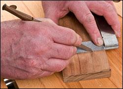 Нож разметочный Lee Valley Czeck Edge Kerf Kadet Marking Knife 16N01.01 М00005820 LV 16N0101