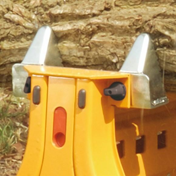 Сменные зажимные губки для бревен для переносных тисков CMT 200 и Triton SJA 200