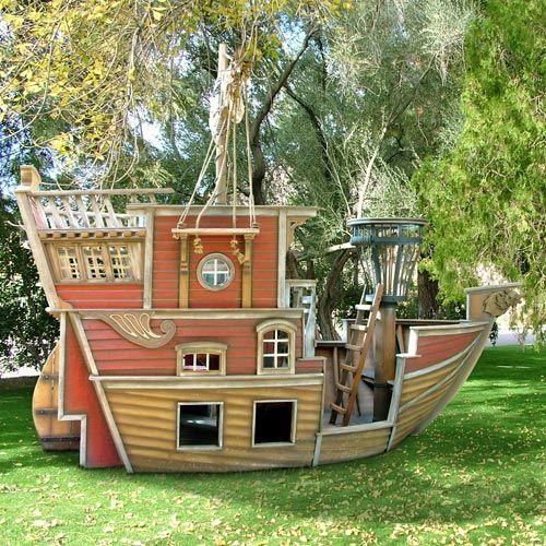 Построить корабль для детей