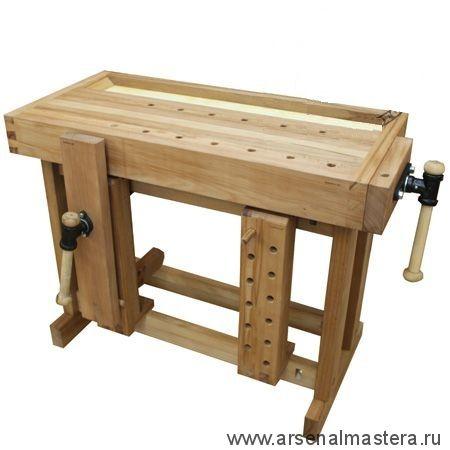 Рекомендуем к покупке столярные деревянные верстаки и столы российского производства, доставим по всей России.