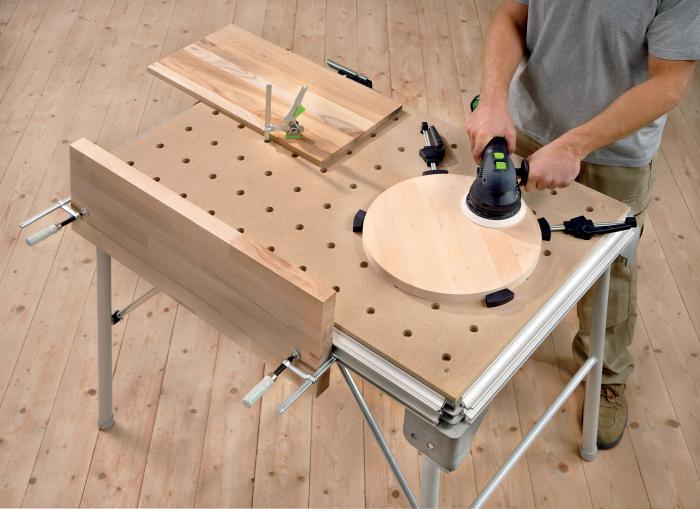 MFT - Multi Function Table - это комбинация мобильного рабочего стола и верстака