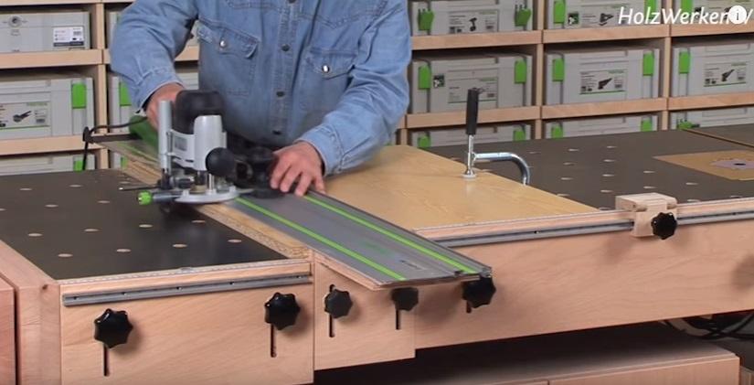 И самым основательным, на наш взгляд, развитием идеи стола MFT является стол-верстак от Holzwerken