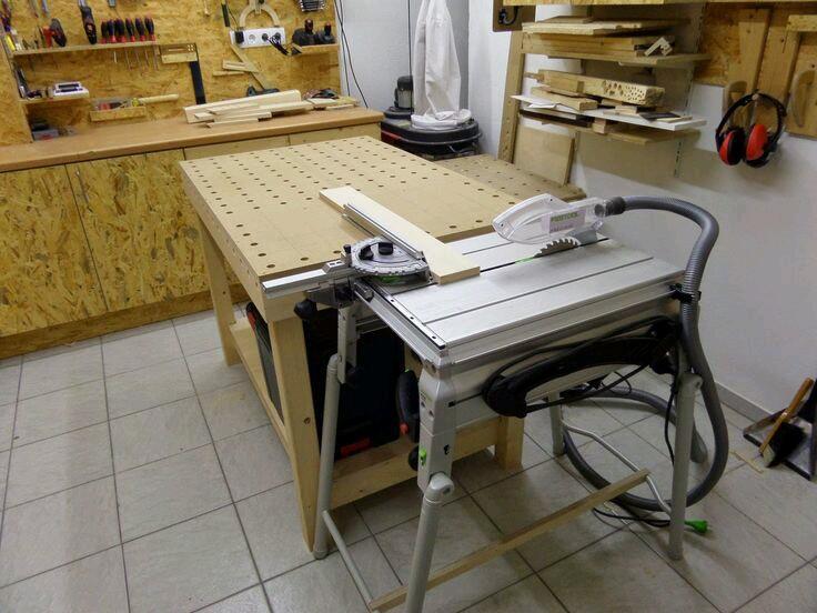 самодельный стол MFT и система CMS