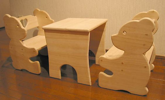Игрушки, поделки и детская мебель