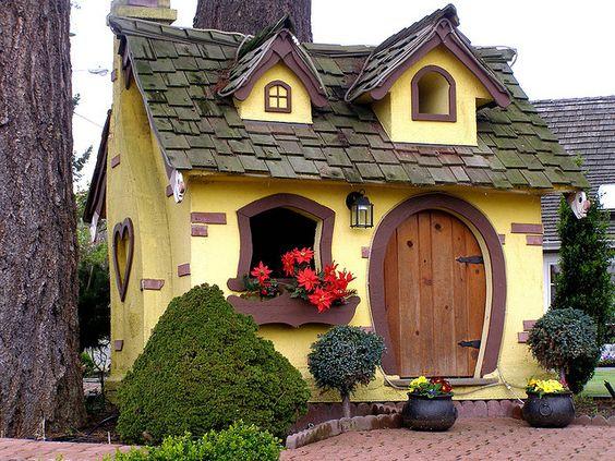 А может это дом хоббита