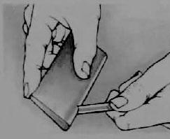 Rozsutec (Розсутец) - плотный натуральный абразивный камень для хонингования