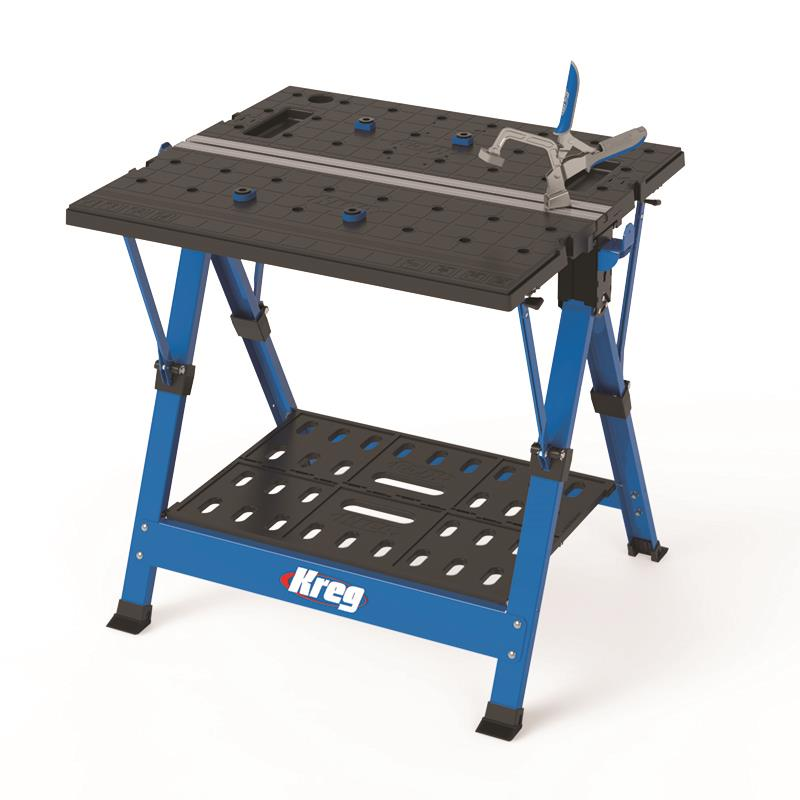 Мобильный Рабочий Центр KREG – это: верстак; козлы; монтажный стол, интегрированные по принципу «все в одном»