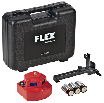 Самонивелирующий лазер 360 (Лазерный измеритель, нивелир) FLEX ALC 1-360