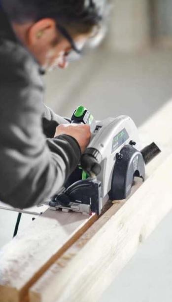 использование дисковой пилы festool HK 85 в качестве фрезера для выборки пазов