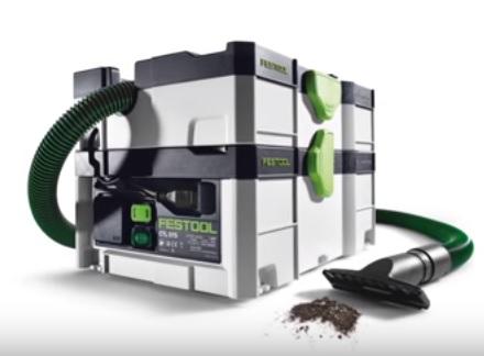 Festool CTL SYS - первый переносной пылеудаляющий аппарат в формате систейнера