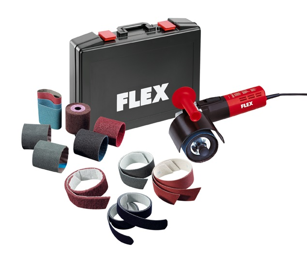 Машина для обработки плоскостей в наборе FLEX LP 1503 VR Set (для сатинирования поверхности металла)