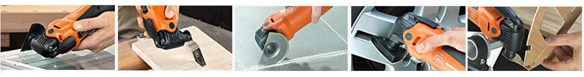 Высокопроизводительная многофункциональная система для отделки и ремонта FEIN MultiMaster Top 350 Вт (Фейн МультиМастер Топ) FMM 350 Q 7 229 42 61 00 0