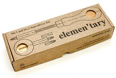 Набор отверточный Elementary N3: две рукояти + 6 насадок TF Elementary Screwdriver set 3