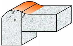 Специальные пазовые фрезы с дополнительным торцевым зубом