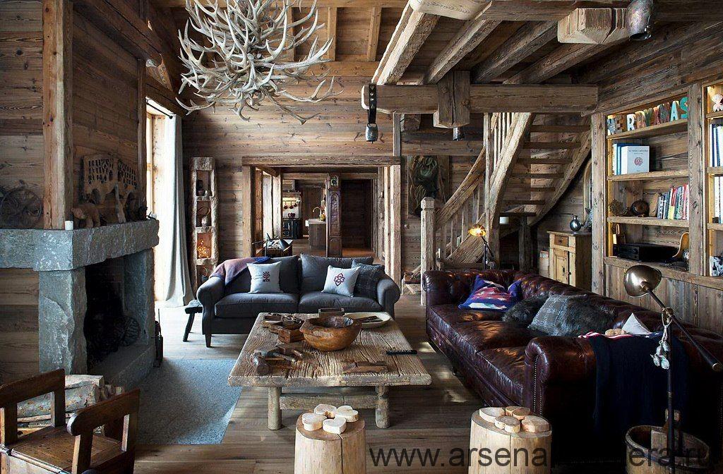 фото интересных вещей, сделанных своими руками, и просто красивых интерьеров в деревенском стиле