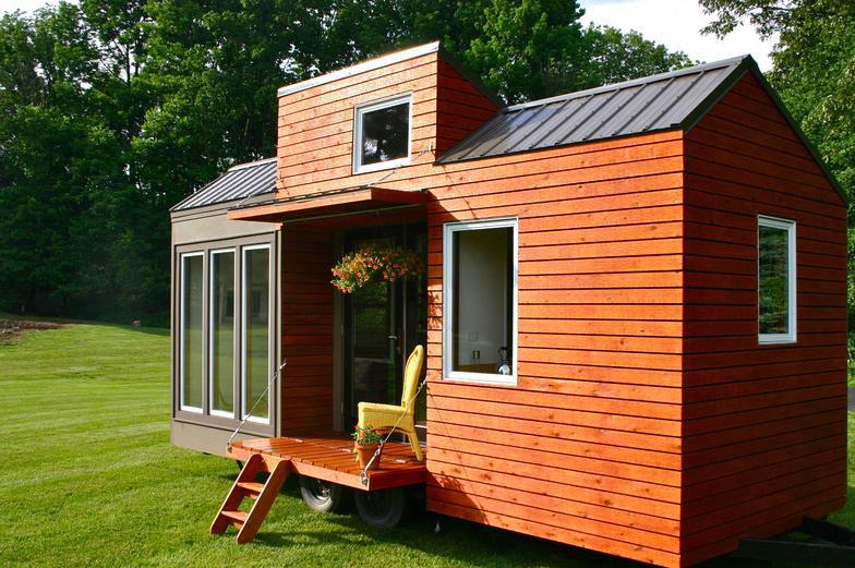Крошечные дома (Tiny House), дома - прицепы