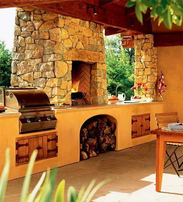 Организуем барбекю: уютный и всесезонный уголок в вашем саду