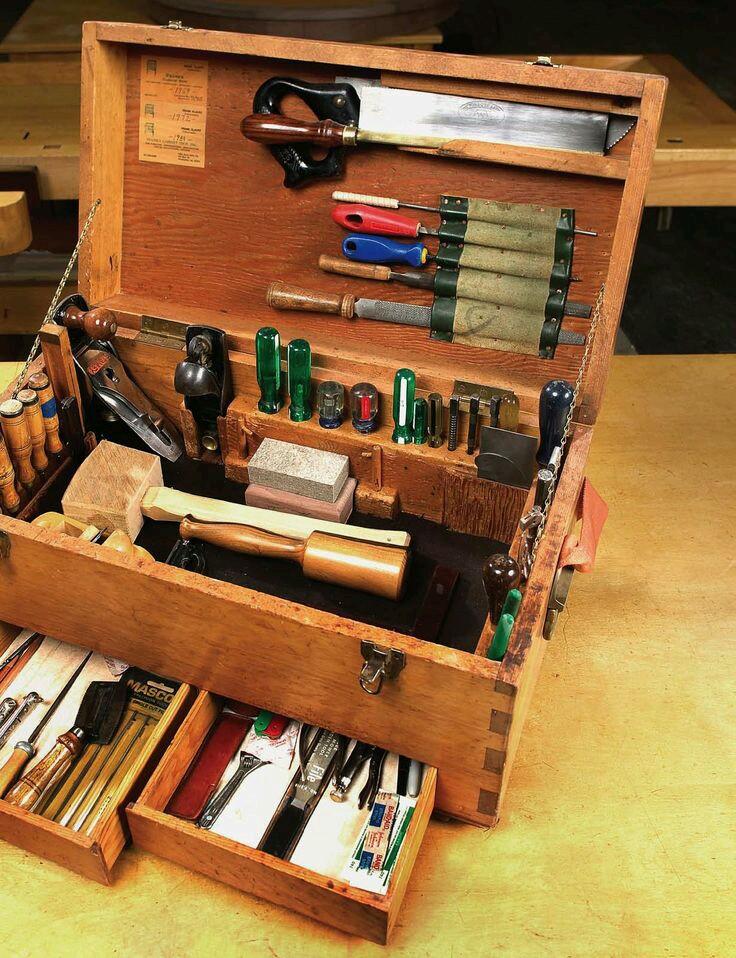 Ящики, сундуки и комоды для инструментов