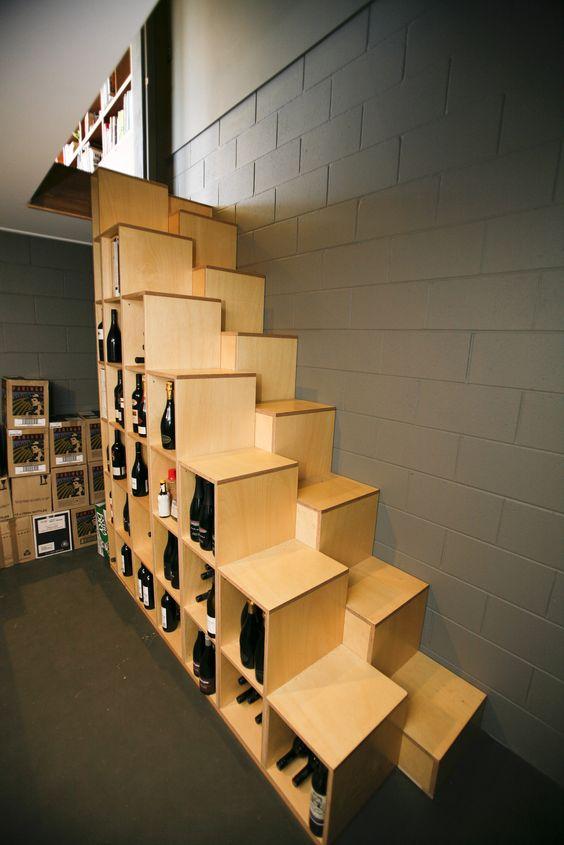 Интересным решением с точки зрения суммарной экономии может служить вот такая лестница