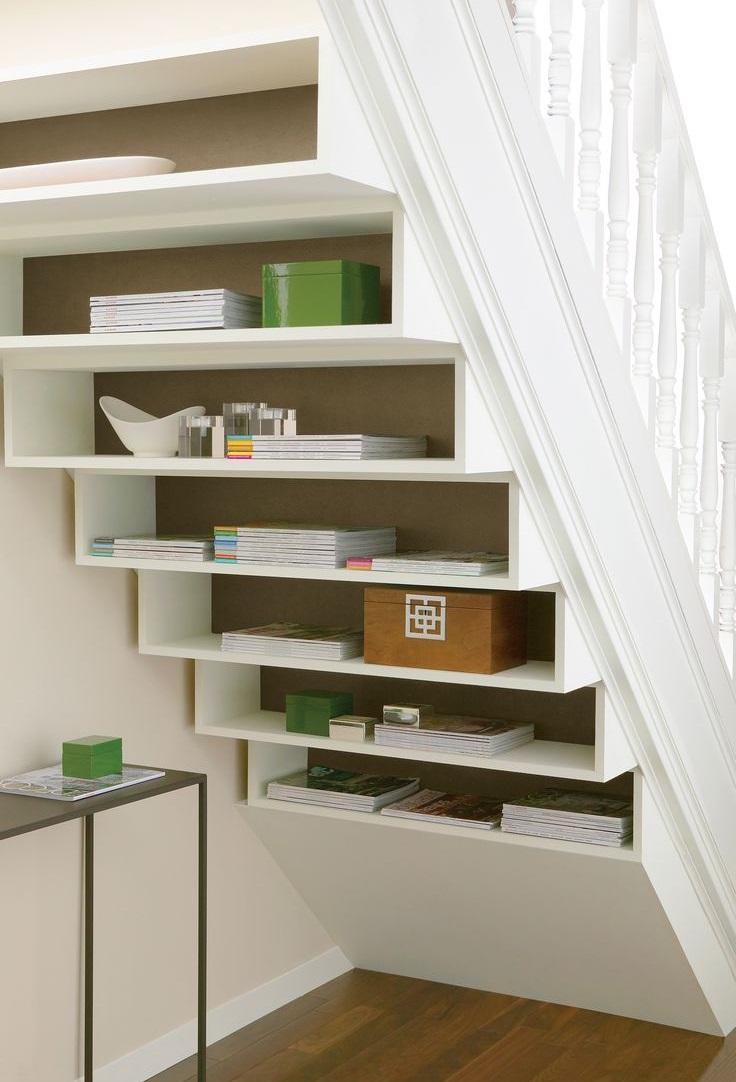 Решение лестницы, объединенной с библиотекой