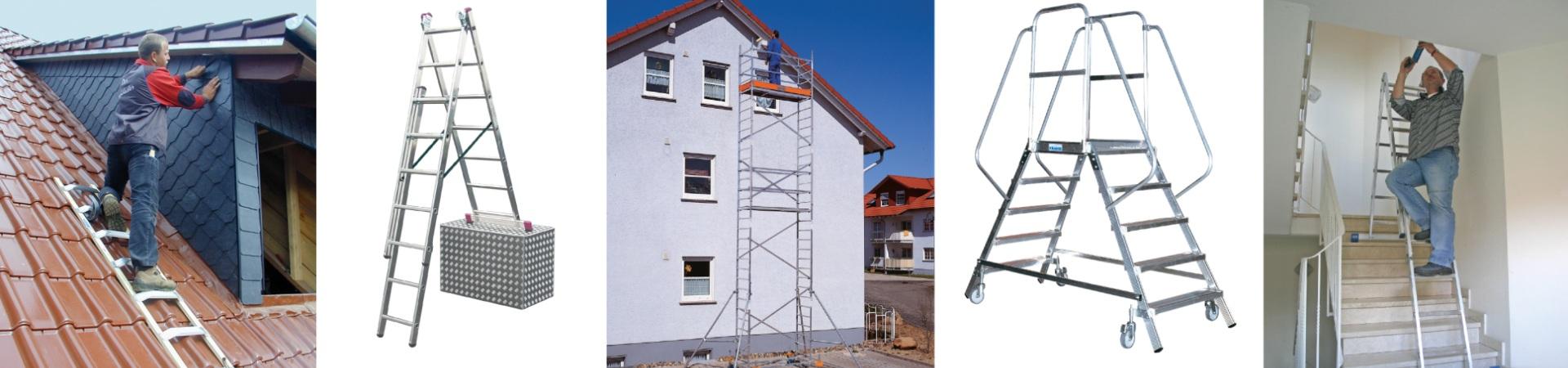 лестницы и стремянки краузе