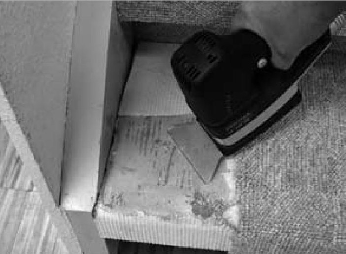 очистка лестницы
