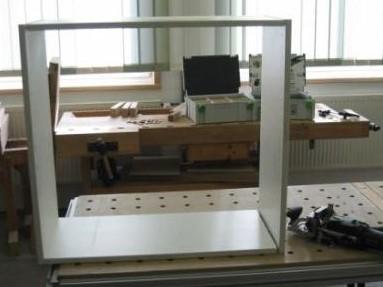 сделать мебельный корпус соединениями домино пример