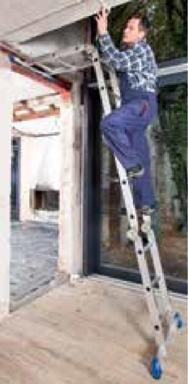 Универсальная шарнирная лестница - стремянка трансформерKrauseSTABILO, 4х3