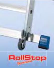 Односторонняя алюминиевая лестница - стремянка Krause Stabilo с большой платформой и дугой безопасности
