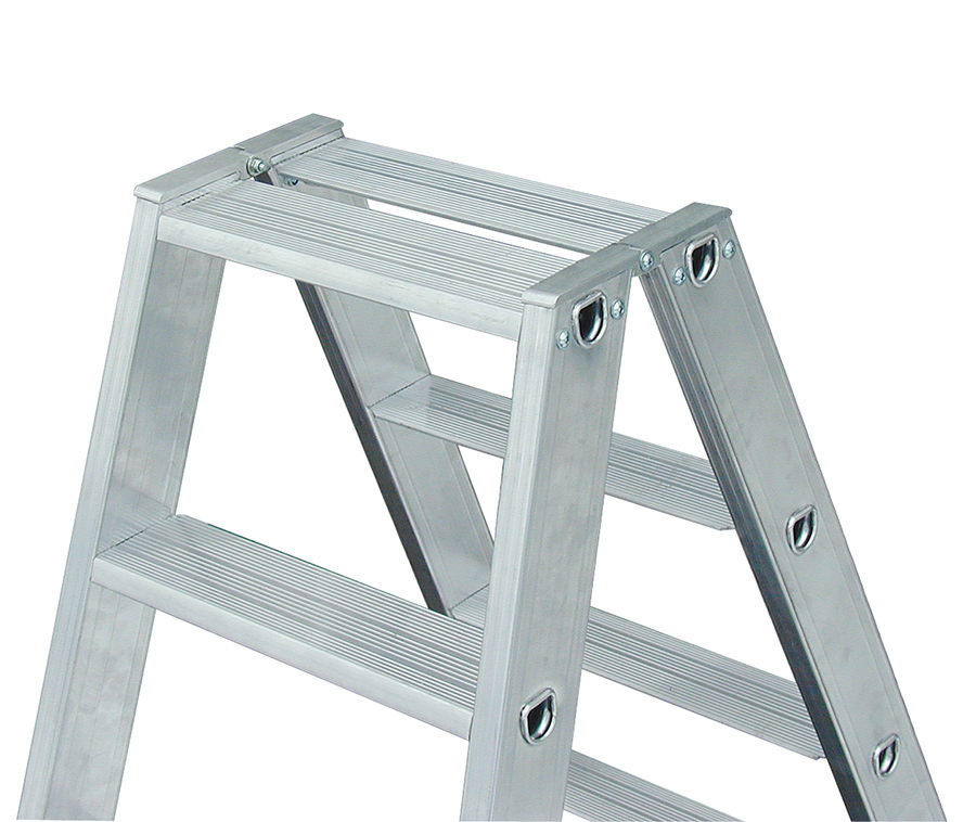 Двухсторонняя лестница-стремянка Krause Stabilo