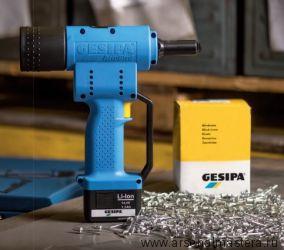 Аккумуляторный заклепочник Gesipa Accubird