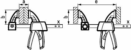 Струбцина для работы одной рукой EZS BESSEY EZS30-8