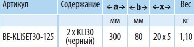 KLISET30-125