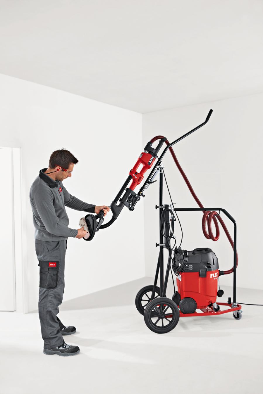 Мобильное рабочее место для систем для шлифования стен и потолков FLEX GM 320 (мобильная установка для
