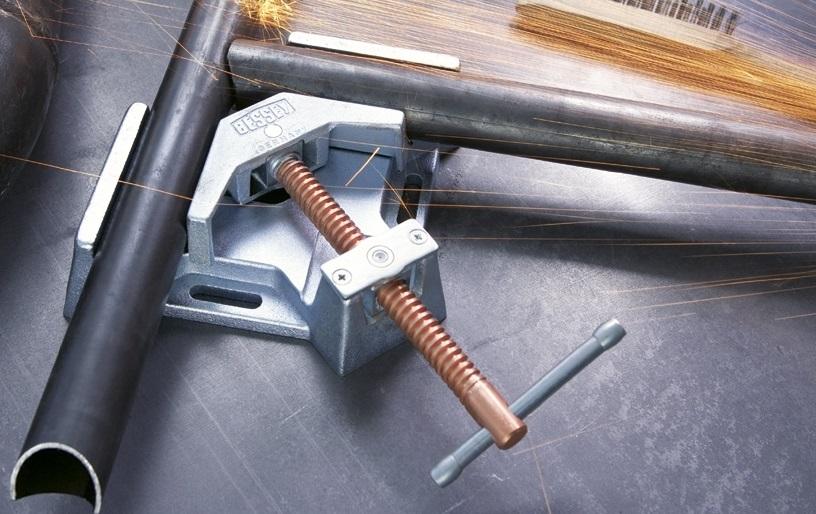 Струбцина угловая (Металлический угловой зажим Бессей) Bessey 2x90/60 WSM9