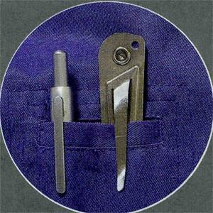 Линейка конусная карманная Shinwa для определения диаметров отверстий от 0 до 15 мм Sh 62603