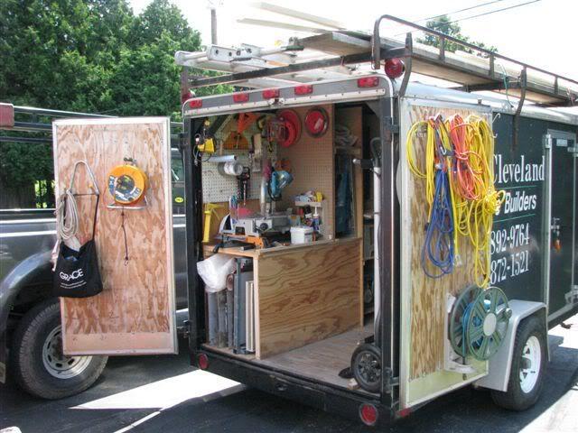 мобильная мастерская в фургоне или авто