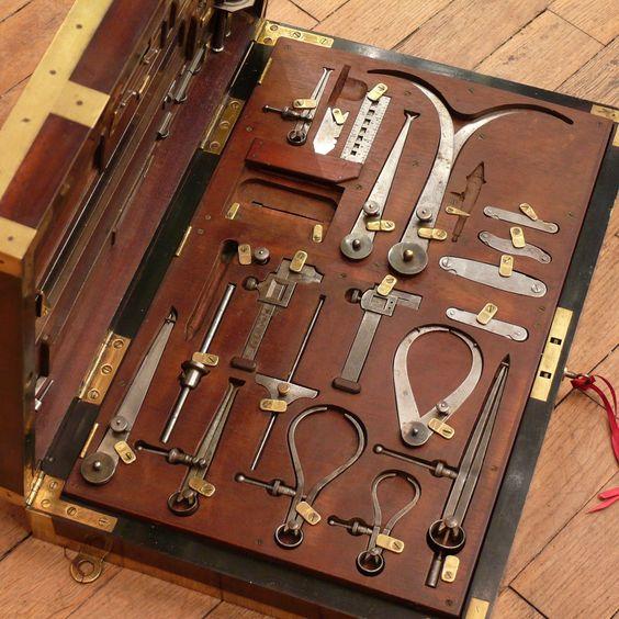 Ящики, сундуки и комоды для инструментов как хранили ранее