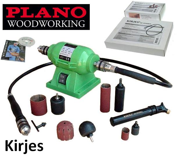 Компактный, быстрый и тихий станок Kirjes - оптимальное решение для каждого мастера, который хочет шлифовать или полировать дерево у себя в мастерской или дома
