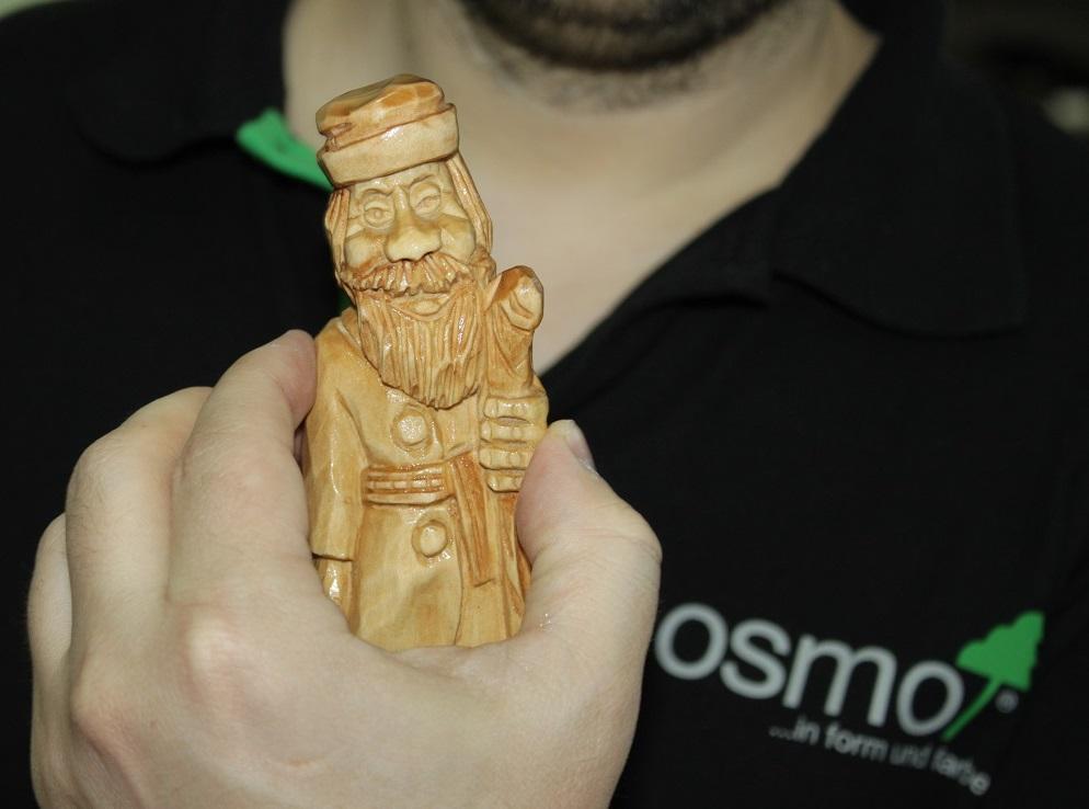 Праздник Немецкого Инструмента 10 декабря 2016 OSMO демонстрация мастер-классы по нанесению масел