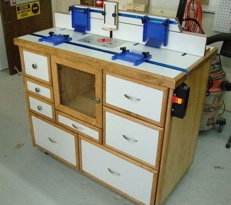 фото-обзор фрезерный стол для Мастерской Мечты