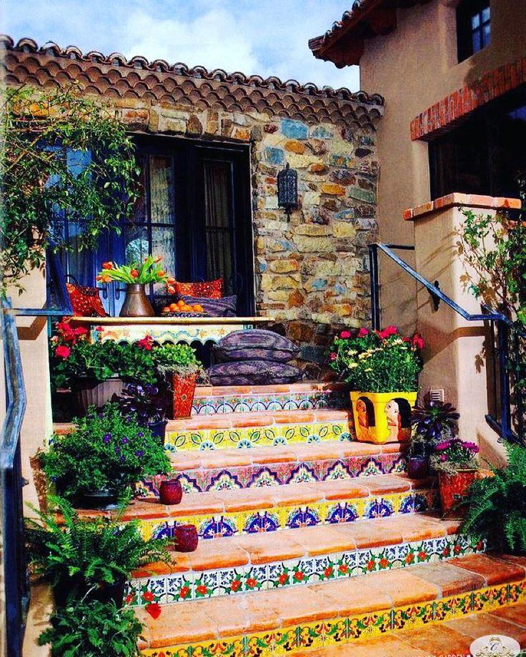 оформления подступенков лестниц при помощи керамики и  плитки