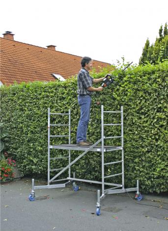 Алюминиевая вышка-тура передвижная ClimTec производства KRAUSE Германия