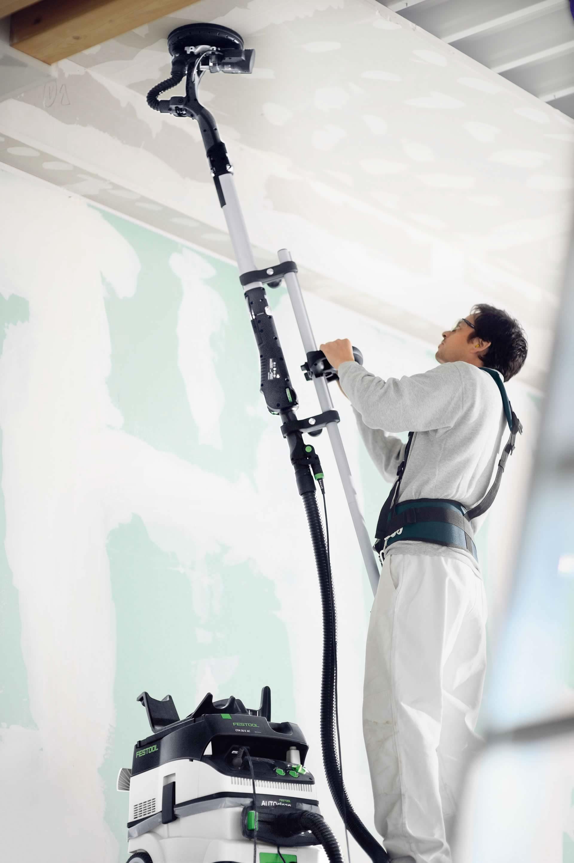шлифование потолков
