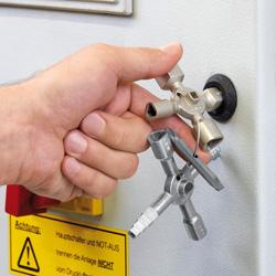 ключи для шкафов книпекс